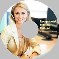Auto Sales Training - Receptionist Training Manual eBook on CD