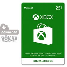 Xbox LIVE 25 Euro € EUR Guthaben Card - offizieller Code DE EU | Xbox One, Xbox