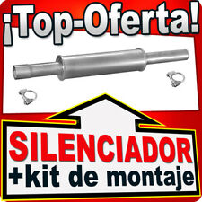 Silenciador Intermedio VW GOLF II VW PASSAT 1.8 1.8 GTI 2.0 16V 1986-96 DDL