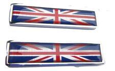 BD4-G3 scooter emamal de qualité auto adhésive Union Jack Badges sur laiton