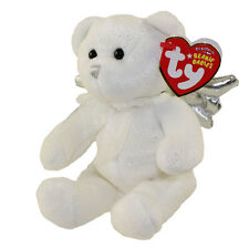 TY Beanie Baby - JUBILANT the Angel Bear (Silver Wings - Cracker Barrel Excl)