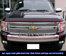 For 2007-2013 Chevy Silverado 1500 Billet Grille Insert
