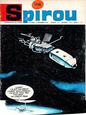 ▬► Spirou Hebdo - n°1438 du 4 Novembre 1965 - SANS mini-récit