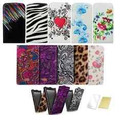 % Handy Tasche für Iphone 4S 4G 5 5S Muster BUNT Schutzhülle Cover Case 2 Folie