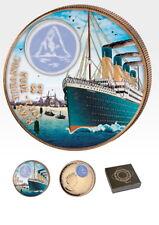 British Virgin Islands Titanic Auslauf 2012 42,2 Gramm 2$ 999 Bronze Box & Zert.