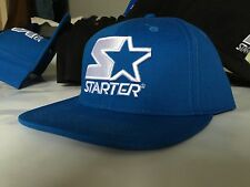 brand new! STARTER CAP ICONIC SNAPBACK w/ Raised embroidered logos