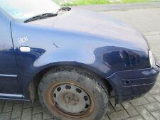 Kotflügel rechts VW Golf 4 indigoblau LB5N blau Kiemen Lufthutze