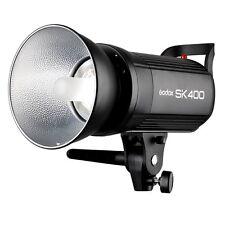 DE Godox SK400 400W LED Display Studio Blitz Blitzgerät Flash Bowens Mount 220V