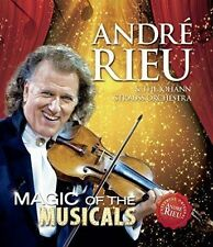 ANDRE RIEU  - MAGIC OF THE MUSICALS, BLU-RAY NEW