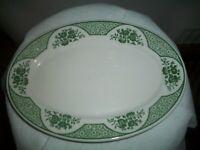 "Vintage Syracuse China WAKEFIELD PATTERN PLATTER Restaurant Ware 10 1/2"""