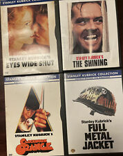 4 Stanley Kubricks Collection Dvd Eyes Wide Shut, The Shining, Clockwork Orange