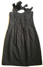 VERONIKA MAINE Sz.8 Little Black Dress EUC Made In Aus. Combined Post