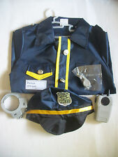 iPlay iLearn Police Officer Role Play Costume Set 3-6 Years Dress Up + Carry Bag