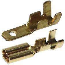 200 cosses électriques à sertir plates 2.8mm 0.5mm mâles femelle 0.5-1mm²
