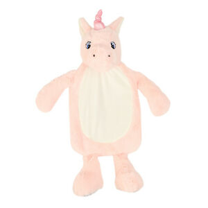 Personalised Plush Unicorn Hot Water Bottle Cover - Perfect Christmas gift