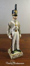 Capodimonte Style Vintage West Point Cadet Porcelain Figurine