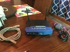 Linksys WRT54GL v1.1  Wireless-G Router 2.4 GHZ Broadband Router 54Mbps With 4-P