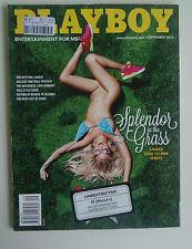 US Playboy Magazine *September 2013 *Ciara Price Cover