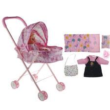 Mini Reborn Infant Doll Nursing Supplies - Newborn Baby Doll & Stroller Toys