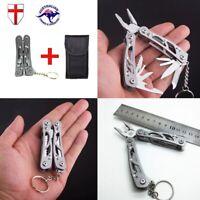 Multi Tool Pocket Knife Pliers Multitool Swiss Army Survival Gift Idea Mens