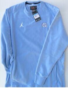 New Jordan UNC North Carolina Tar Heels Fleece Sweater, Size M (CQ7670-448)