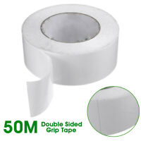 AU 50mx5cm Roll Self-adhesived Golf Clubs Double Sided Grip Tape Adhesive  ; <