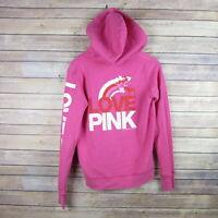 PINK Victoria's Secret Women's Hooded Sweater Sz S Kangaroo Pocket Hoodie