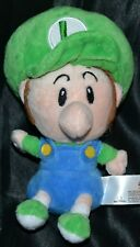 "6"" Baby Luigi Super Mario Bros. Brothers Plush Toys Dolls Stuffed Animals"