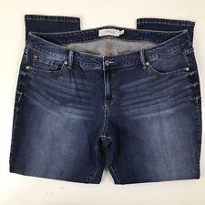 Torrid Womens Jeans Size 20S Short Distressed Stretch Medium Wash Straight Leg