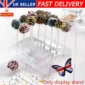 Cake Pop Lollipop Stands 20 Hole U Shaped Holder DIY Bakeware Display Stand UK💥