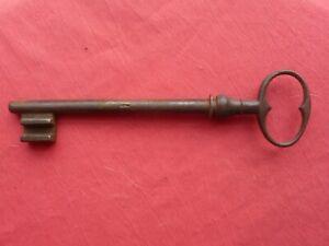 ancienne clef clé 158mm fer Antica Chiave in ferro old iron key alten Schlüssel
