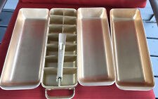 Vintage Frigidaire Quickube Ice Cube Tray with Lift Release Handle + 3 Extra