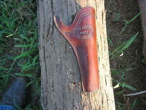 EL PASO SADDLERY LEATHER HOLSTER 4 5/8 RIGHT HAND
