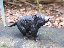 """DIAVOLO DELLA TASMANIA """"scienza e natura"""" piccolo mammifero australiano in plastica REPLICA"""