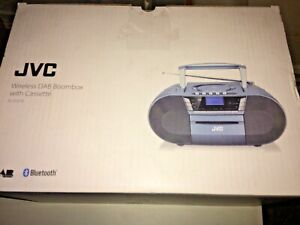 JVC RC-D327B Portable  Bluetooth DAB/FM Boombox with CD Player  - BLUE