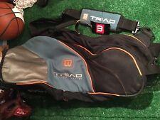 Wilson Triad Tennis Comfort Series Carrying Bag Wheels Strap