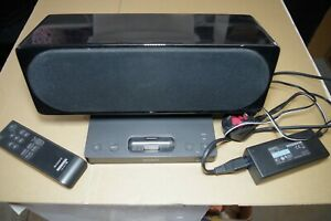 Sony SRS-GU10iP  Speaker Dock with Remote for iPod Tested Works