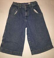 VINTAGE JNCO Jeans Denim Shorts Baggy  Wide Legs Men's 29 Skater