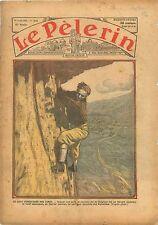 Alpes Alpinisme Dolomites Dolomiti Léopold III Roi des Belges 1934 ILLUSTRATION