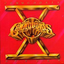 """COMMODORES """"HEROES"""" PREMIUM QUALITY USED LP (NM/EX)"""