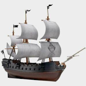 Revell SnapTite Plastic Model Kit Pirate Ship The Black Diamond 1:350 New