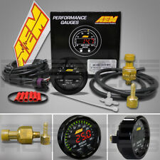 Aem 30-0306 X-Series Boost Pressure Display Gauge -30 ~ 35 Psi / Bar -1 ~ 2.5