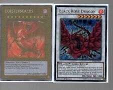 Yugioh Card - Ultra Rare Holo - Black Rose Dragon DUSA-EN077 1st Edition NEW