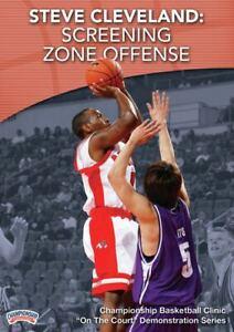 Steve Cleveland: Screening Zone Offense Basketball Coaching DVD 5 Stars!! Great!