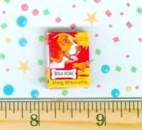 Dollhouse Miniature size Medium Dog Bone Treats  Box