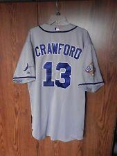 2008 Tampa Bay Rays Carl Crawford World Series Jersey Majestic size men's 54 MLB