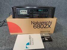 Nakamichi 680Zx,3 head cassette deck - serviced - with original box