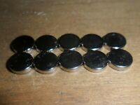 Scalextric 10 brand new 8mm diameter 2mm thick super strong magnets car spares
