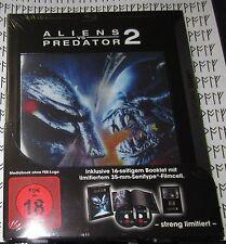 AVP 2 linsenförmige Limited Cinedition Blu-ray mit Film Cell ~ Aliens vs Predator 2