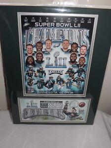 US Postal Service Philadelphia Eagles Super Bowl LII Champions Artwork Cache NEW